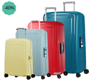 Samsonite valise S'Cure bicolore